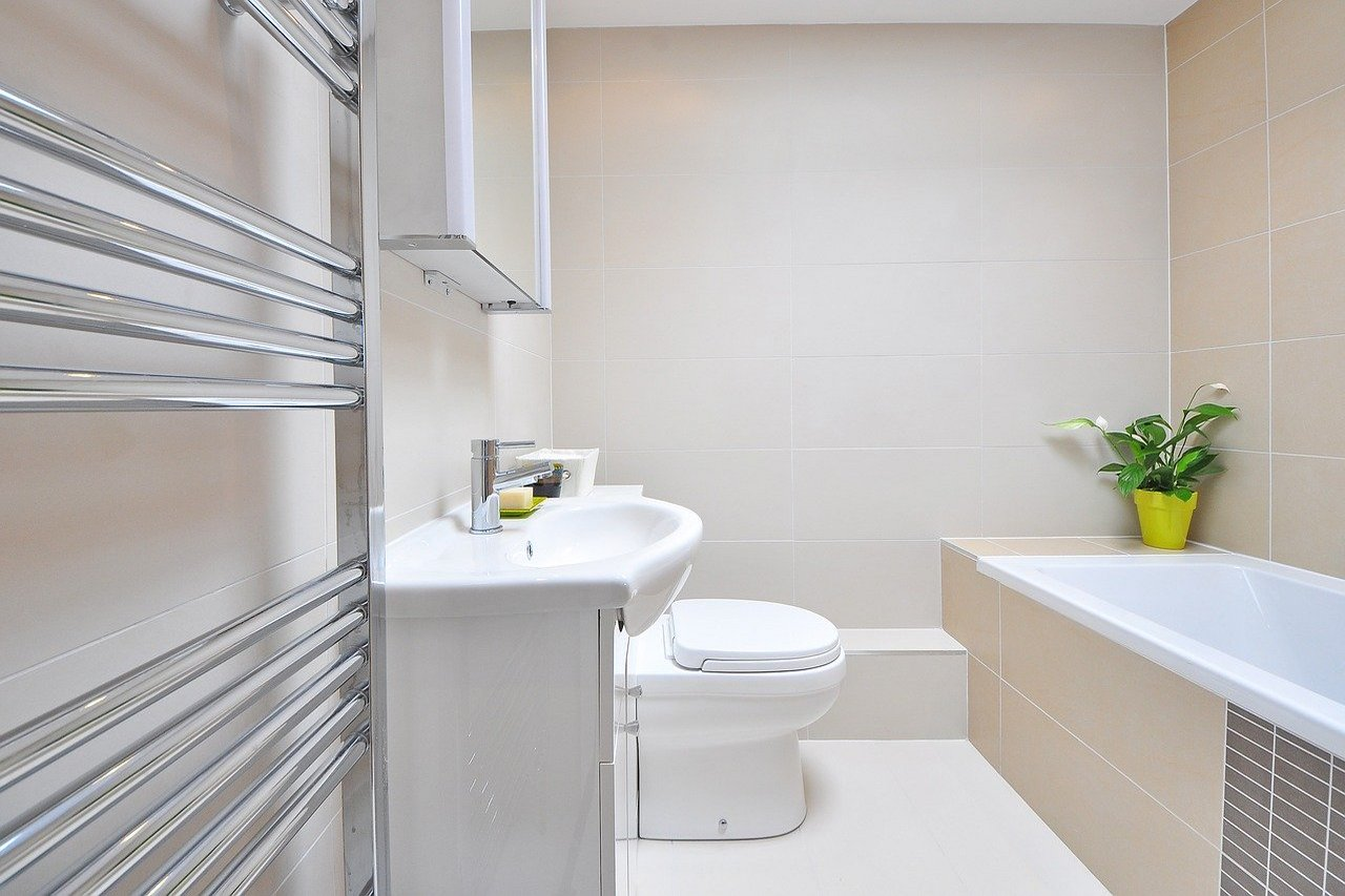 Łazienka w ekologicznym stylu